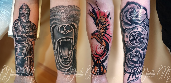 Reptile tattoo