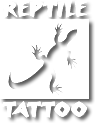 Reptile tattoo logo